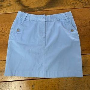 Brooks Brothers Chino Mini Skirt